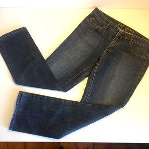 JAG DENIM sz 14 Bondi Staight mid rise jeans